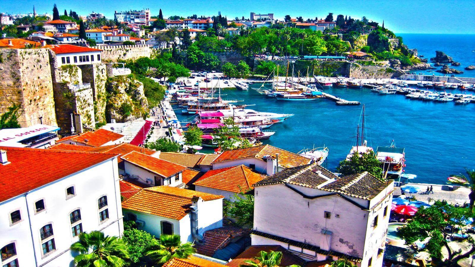 Antalya Turkey travel - ავიაბილეთები ანტალია