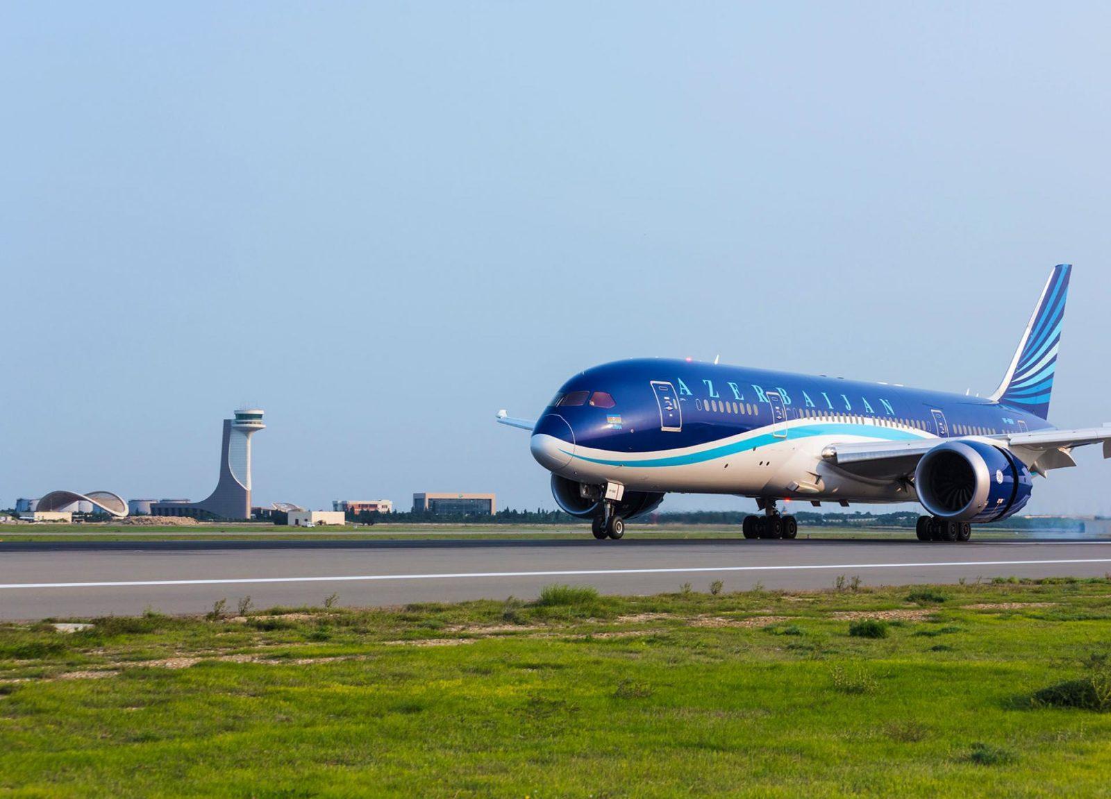 Azerbaijan Airlines - ავიაკომპანია აზერბაიჯანის ავიახაზები - Azerbaijan Airlines