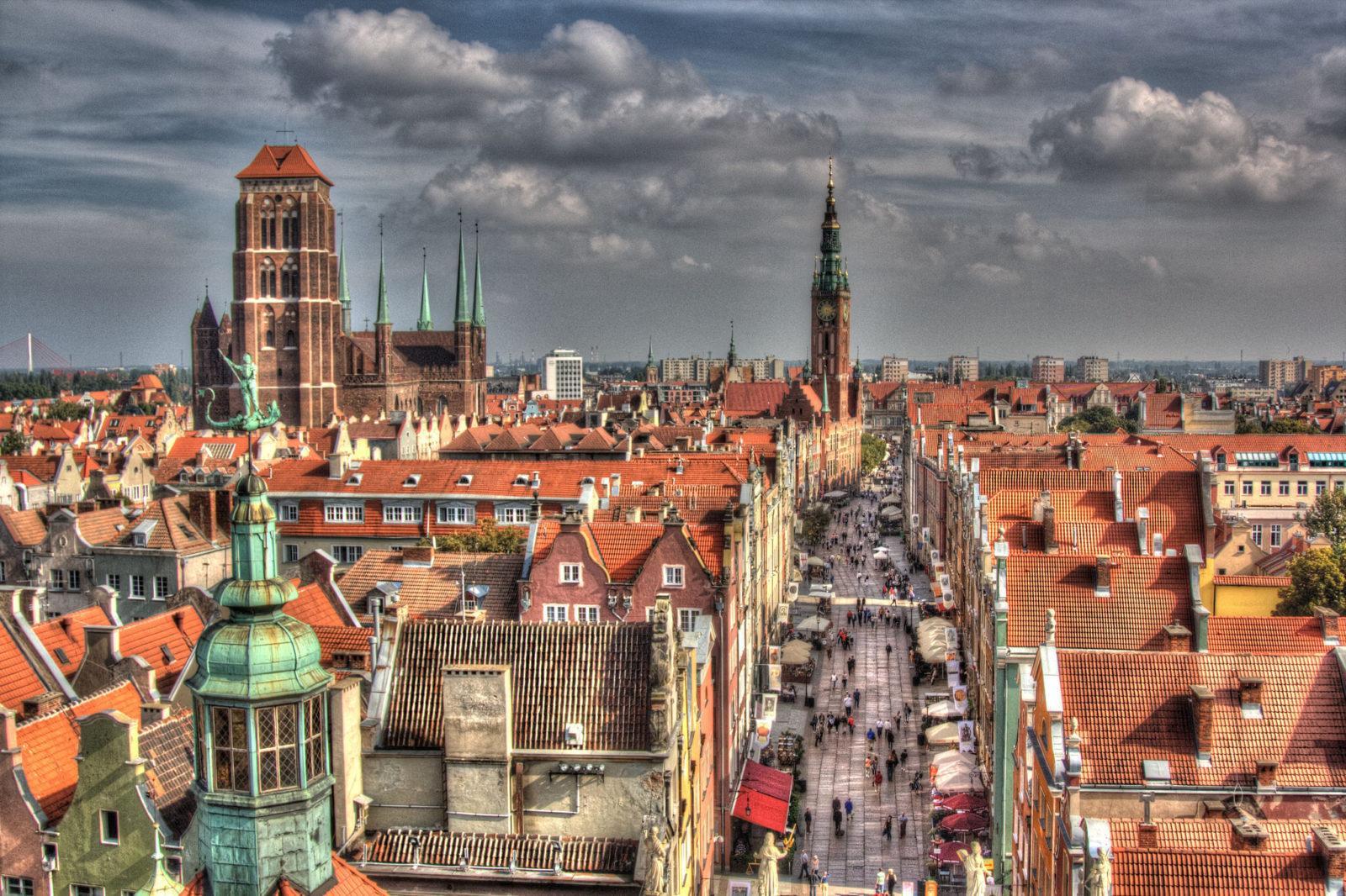 Gdansk - ავიაბილეთები გდანსკი