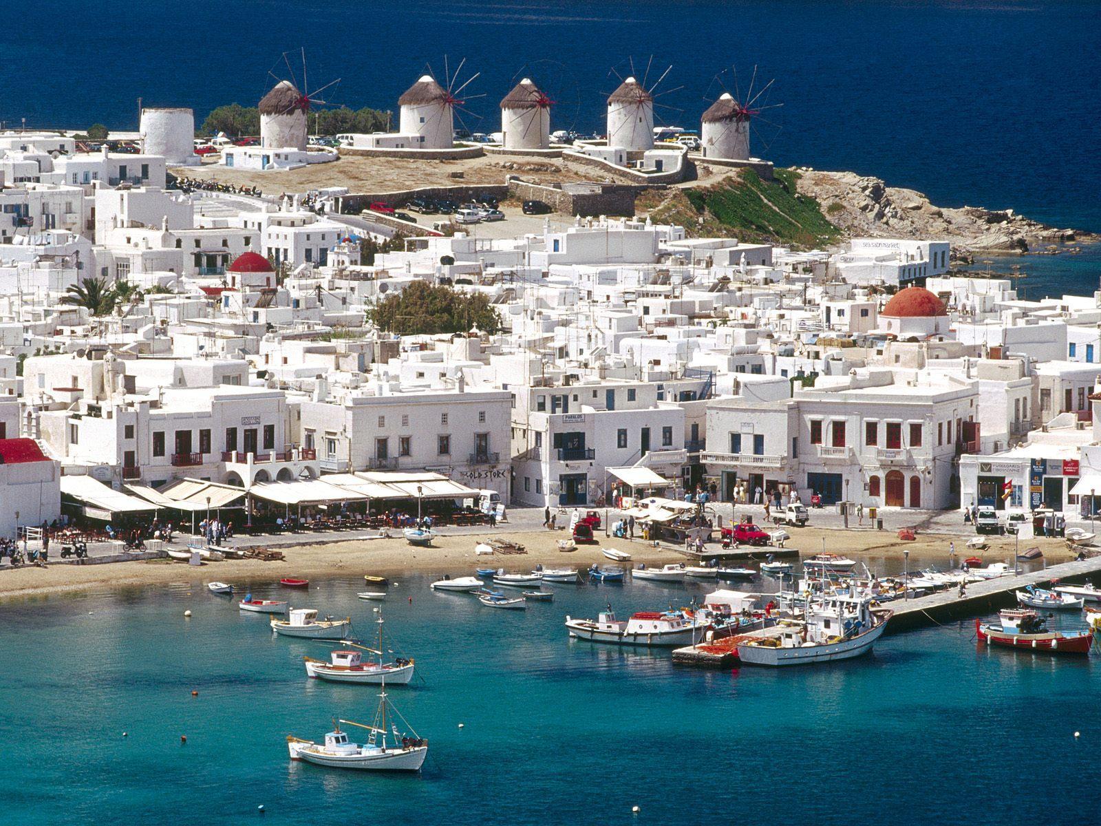 Mykonos Cyclades Greece - ავიაბილეთები მიკონოსი