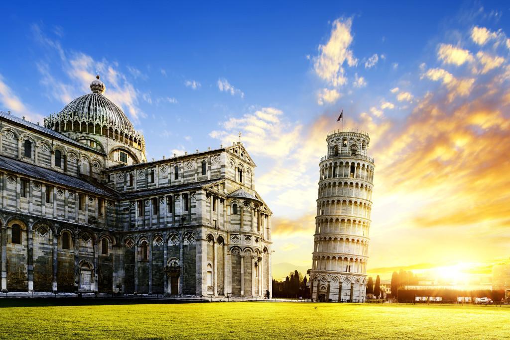 Pisa City - ავიაბილეთები პიზა