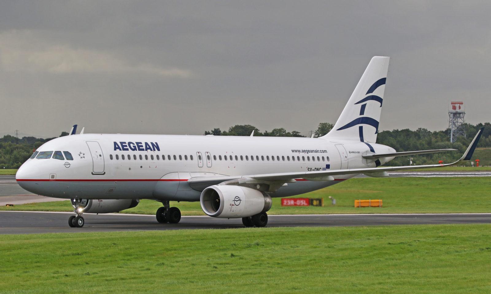 aegean scaled - ავიაკომპანია ეგეოსის ავიახაზები - Aegean Airlines