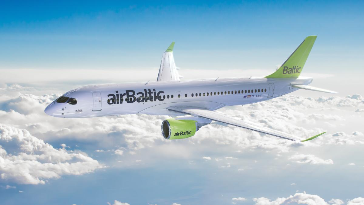 airbaltic - ავიაკომპანია ეარბალტიკი - AirBaltic