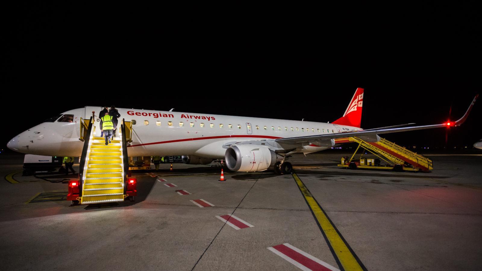 georgian airlines - ავიაკომპანია საქართველოს ავიახაზები - Georgian Airways