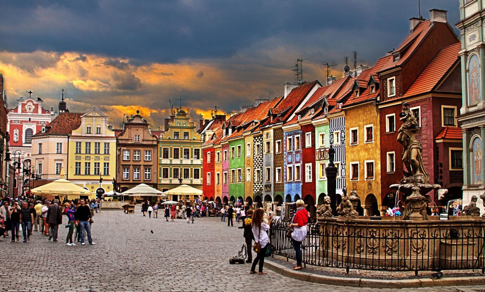 poznan - ავიაბილეთები პოზნანი