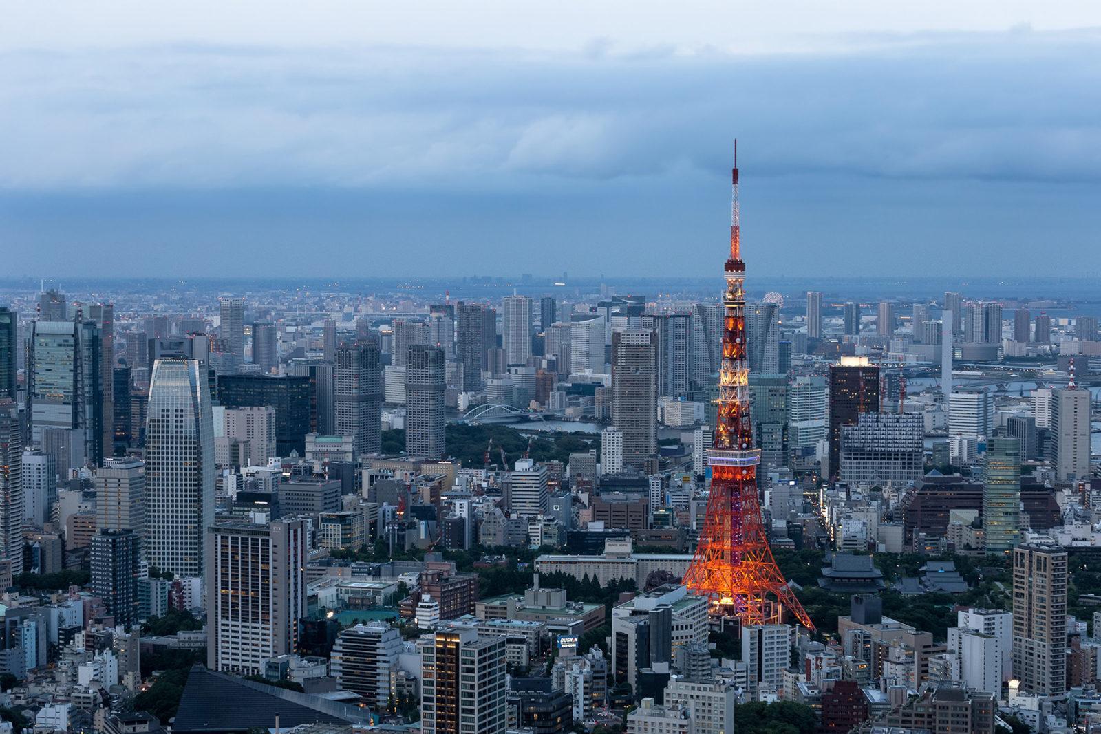 tokyo minato buildings cityscape - ავიაბილეთები ტოკიო